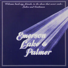 Emerson, Lake & Palmer ‎Welcome Back My Friends, To The Show That Never Ends 2CD