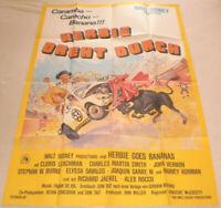 A0 Filmplakat,  HERBIE DREHT DURCH,CLORIS LEACHMAN,JOHN VERNON,WALT DISNEY