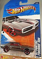 2011 Hot Wheels #86 Street Beasts  6/10 67 PONTIAC FIREBIRD 400 Gray Variant OH5