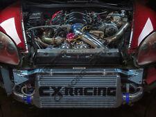 CX Turbo Manifold Header Downpipe Intercooler Radiator Kit For Corvette C6 LS3