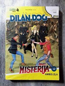 New Zlatna Serija Br. 12 Dylan Dog &  MARTIN MYSTERE AMBIS ZLA New Comic