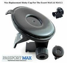 Nice Sticky Cup / Mounr For The Escort MAX Series & GT-7 Radar Detectors DURABLE