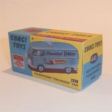 Corgi Toys  441 Volkswagen VW Kombi Toblerone empty Reproduction  Box