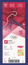 Orig.Ticket   Olympic Games LONDON 2012 - HOCKEY 1/2 FINAL  AUSTRALIA - GERMANY