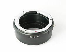 CONTAX Yashica C/Y Mount Lens to Micro 4/3 M4/3 Adapter Ring, Olympus  - AusPost