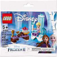 LEGO 30553 Disney Frozen 2 Elsa's Winter Throne Poly Bag 2019