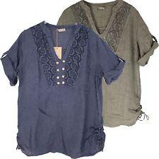 Hips V Neck Formal Tops & Shirts for Women