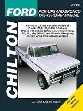Repair Manual Chilton 26662 fits 76-86 Ford F-250