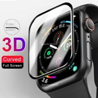 Tempered Glass Protector Screen For Apple Watch 38/40/42/44 mm Series 5 4 3 2 1