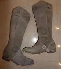 TOP DESIGNER All Saints Hannover REAL LEATHER KNEE HIGH WINTER BOOTS SIZE 5