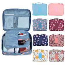 Portable Travel Toiletry Makeup Cosmetic Case Wash Organizer Storage Pouch Bag
