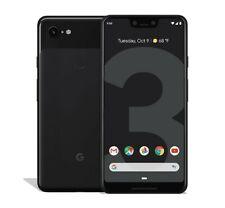 """Smartphone GOOGLE PIXEL 3 XL 4GB+128GB 6.3"""" BLACK NERO Nuovo Sigillato"""