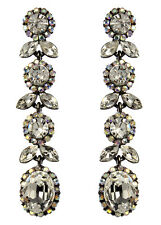 NWT Amrita Singh Real Housewives Heather Gold Crystal Earrings ERC 5540