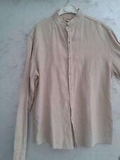 Camicia Lino Cotone Collo alla Coreana Tg M Imperial Originale Discoteca Casual