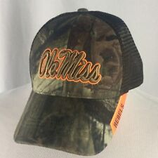 Camouflage Ole Miss Rebels Snapback Trucker Hat Cap NCAA Football Mississippi