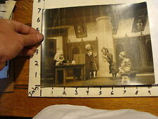 Vintage MARIONETTE PHOTO: the magic violine YOUGOSLAVIA court scene