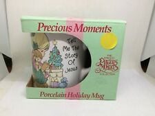 1994 Precious Moments Tell Me the Story of Jesus Holiday Mug