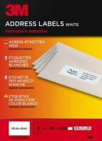 3 M PA12100C Adress-Etiketten für Inkjet, Laser, Kopierer, 105 x 48 mm 1200 St.