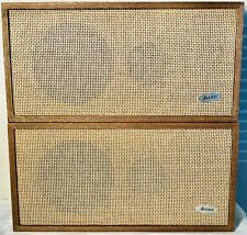 New listing Vintage Allied Speakers Radio Corp 3001 Pair Of Used 8 Ohm Vg Condition!