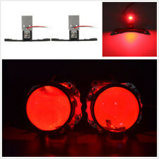 2 Pcs CREE Chip Red LED Devil Eyes Module For Auto Car Projector Lens Headlights