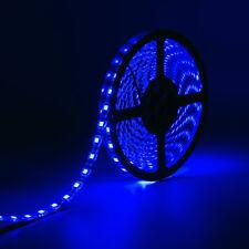 SUPERNIGHT® Blue Waterproof 5050 SMD 60LEDs/M 300LED 5M Light Strip Black PCB
