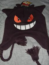 Pokemon Mad Gengar 3D Nintendo Anime Cartoon Character Ears Laplander Beanie Hat