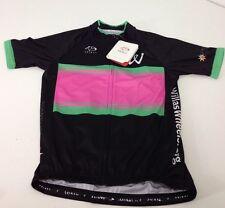 "NWT Primal Cycling Apparel ""Willa's Wheels 2015"" Mens Race Cut Raglan Jersey MED"