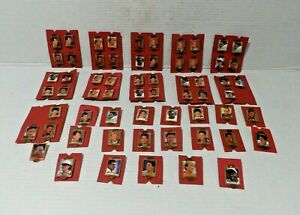 1994 NFL Football Action Packed Badge of Honor Pins 64 pieces