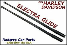 "13"" SHORT Custom Flexible Rubber Antenna Masts - Fits: 1989-2017 Harley Davidson"