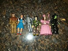 Wizard Of Oz Collectible Moveable Figurine toys lot of 5 Mgm 1988 Turner