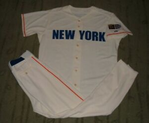 DAVID WRIGHT NEW YORK METS CIVIL RIGHTS UN WORN USED GAME ISSUED JERSEY & PANTS