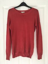 Ladies XS Long Sleeve Reiss Jumper Burnt Orange