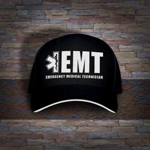 EMT Emergency Medical Technician Paramedic Embro Cap Hat
