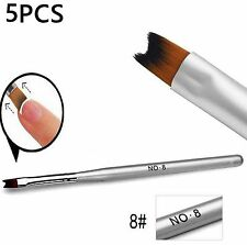 5pcs X pinceau stylo ongles pen brush