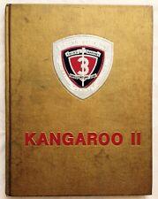 1976 UNITED STATES MARINE CORPS YEARBOOK, KANGAROO II CRUISE BOOK, MARINES, USMC