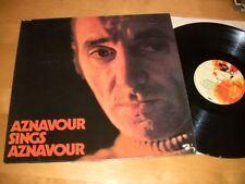 10/173 Charles Aznavour - Aznavour Sings EX