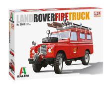 Italeri 3660 1/24 Scale Model Car Kit Land Rover 109 4x4 UK Fire Engine Truck