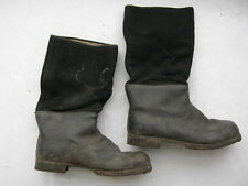 German WW2 warm winter Cold Weather felt leather boots