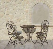 Chaises de jardin et de terrasse en métal