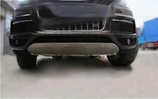 For Audi Q7 S-Line 2011-15 front rear aluminium bumper board guard skid plate N