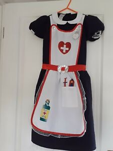 Girls DRESSING UP NURSES OUTFIT Age 7/8    Worn once