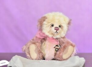 Charlie Bears Raspberry Pavlova Minimo Limited Edition Retired Tagged