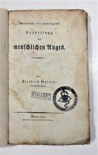 Müller, Anatomisch- und physiologische Darstellung des menschlichen Auges 1819