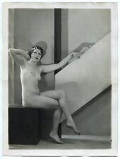 Photo Henri Manuel - Nu - Tirage argentique d'époque 1930's -