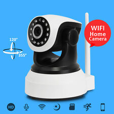 HD 720P Wireless IP Camera WiFi Network Cam Mini Pet Baby Monitor Two Way Audio