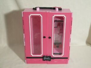 Barbie Ultimate Fashionista Storage Closet Carrying Case,  2013 (incomplete)