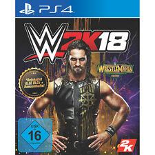 WWE 2k18 Wrestlemania Edition Ps4