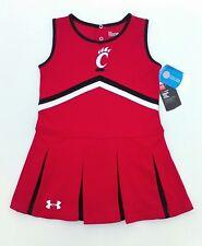 Uc Cincinnati Bearcats Under Armour Cheerleader Outfit Jersey Shirt Youth Size6X