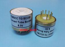 1PC E283CC ECC83 6.3V Vacuum Tube Socket konvertieren Adapter für AMP Do it yourself