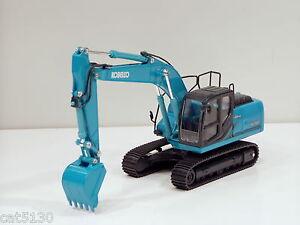 "Kobelco SK200-9 Excavator - ""AQUA"" - 1/43 - Brand New"